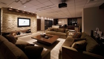 Conference room, or home theater?