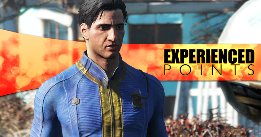 how to look at charactor in fallout 4