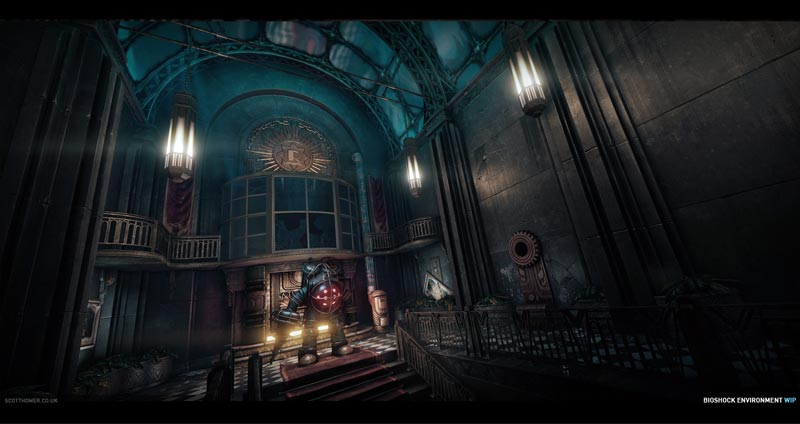 Here 39 s how bioshock would look on cryengine 3 the escapist for Cryengine 3 architecture