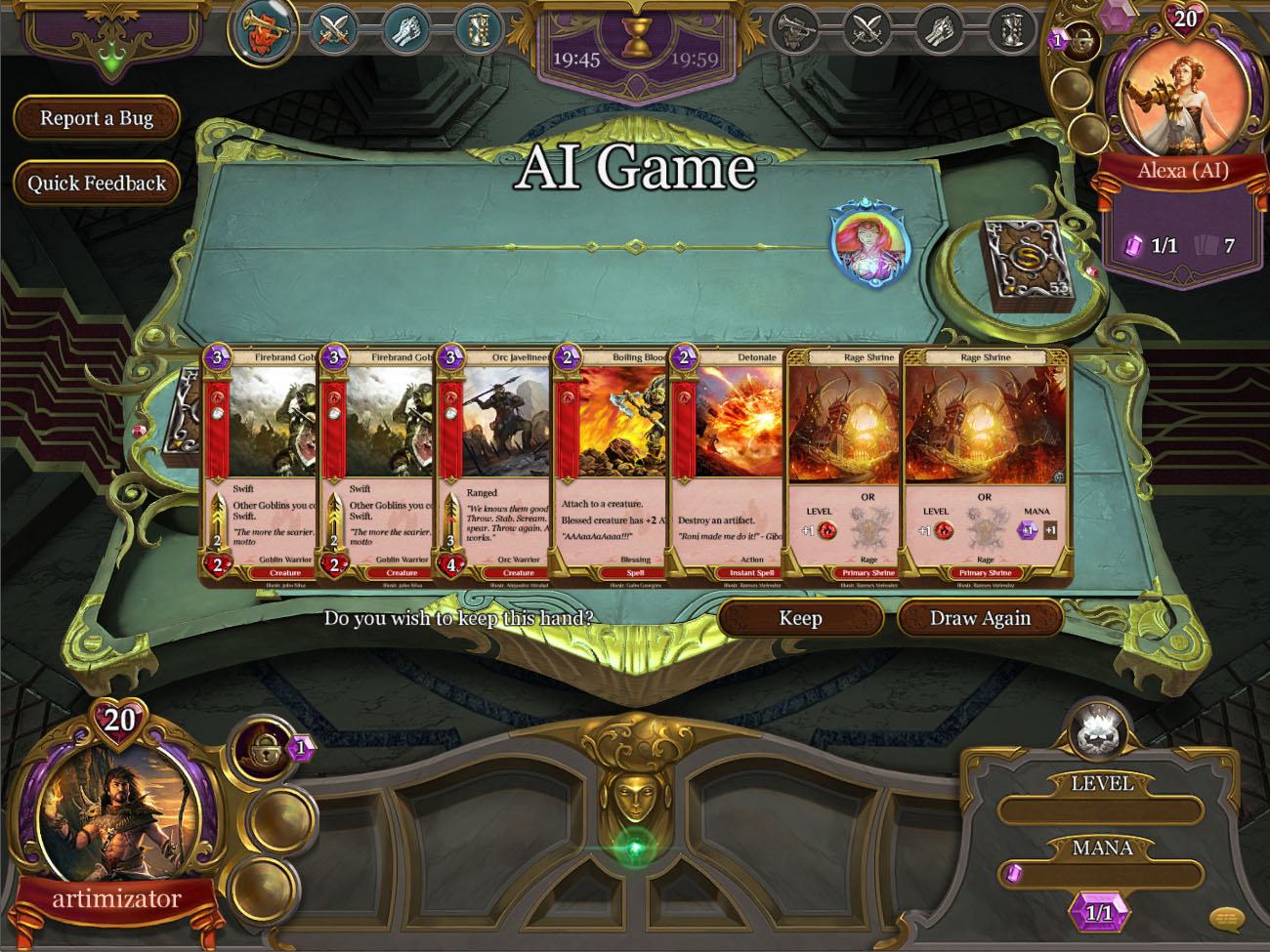 Spellweaver Review A Familiar Trading Card Game