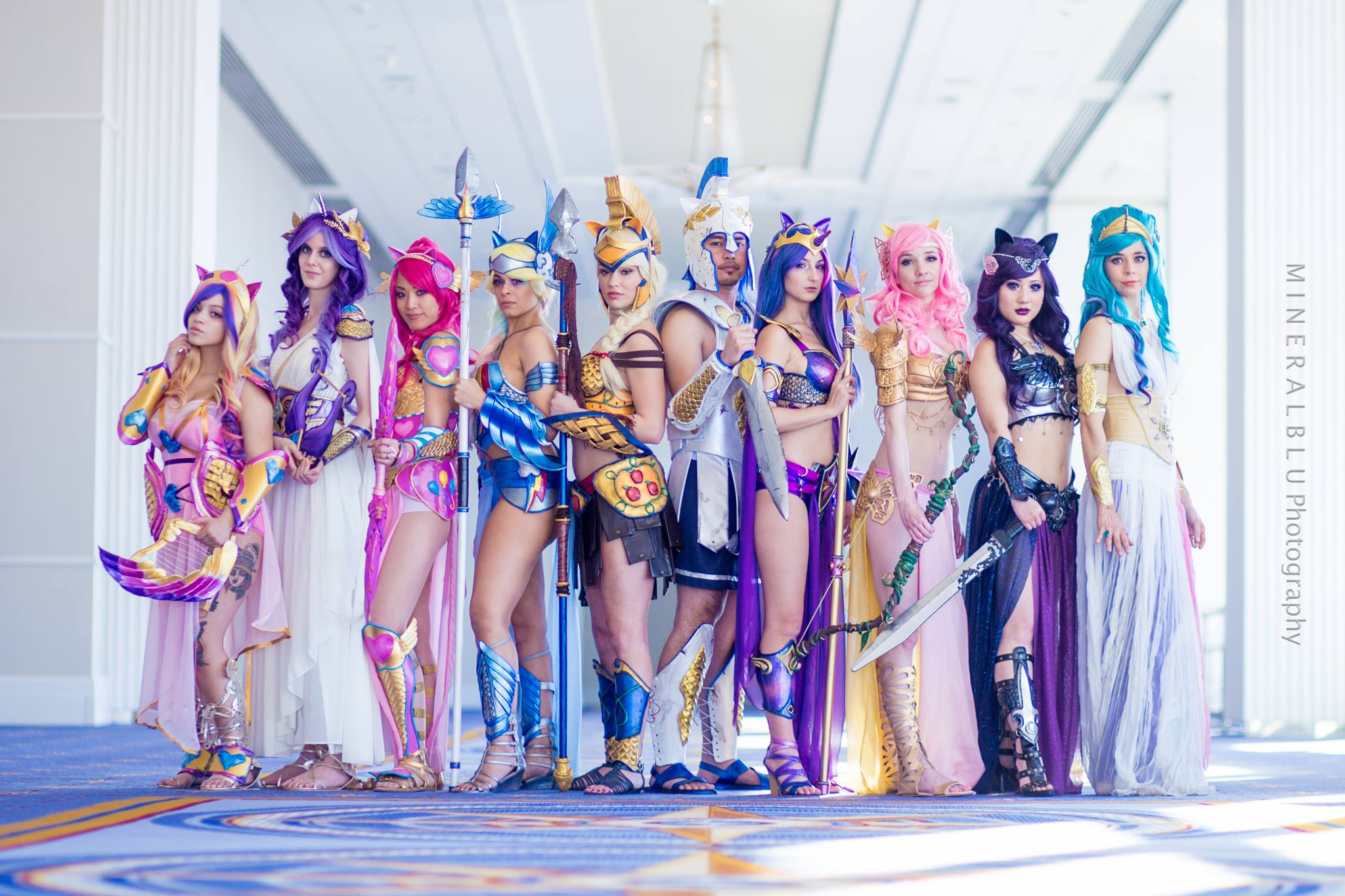 Cosplayers Transform My Little Pony Cast Into Quot Princess