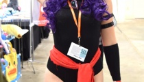 Psylocke getting ready to strike (X-men)!