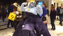 Even Disney villains made it out to the con! Here's Ursula from The Little Mermaid.