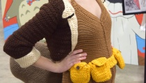 Squirrel Girl, cosplayed by The Scarlet Stitch!