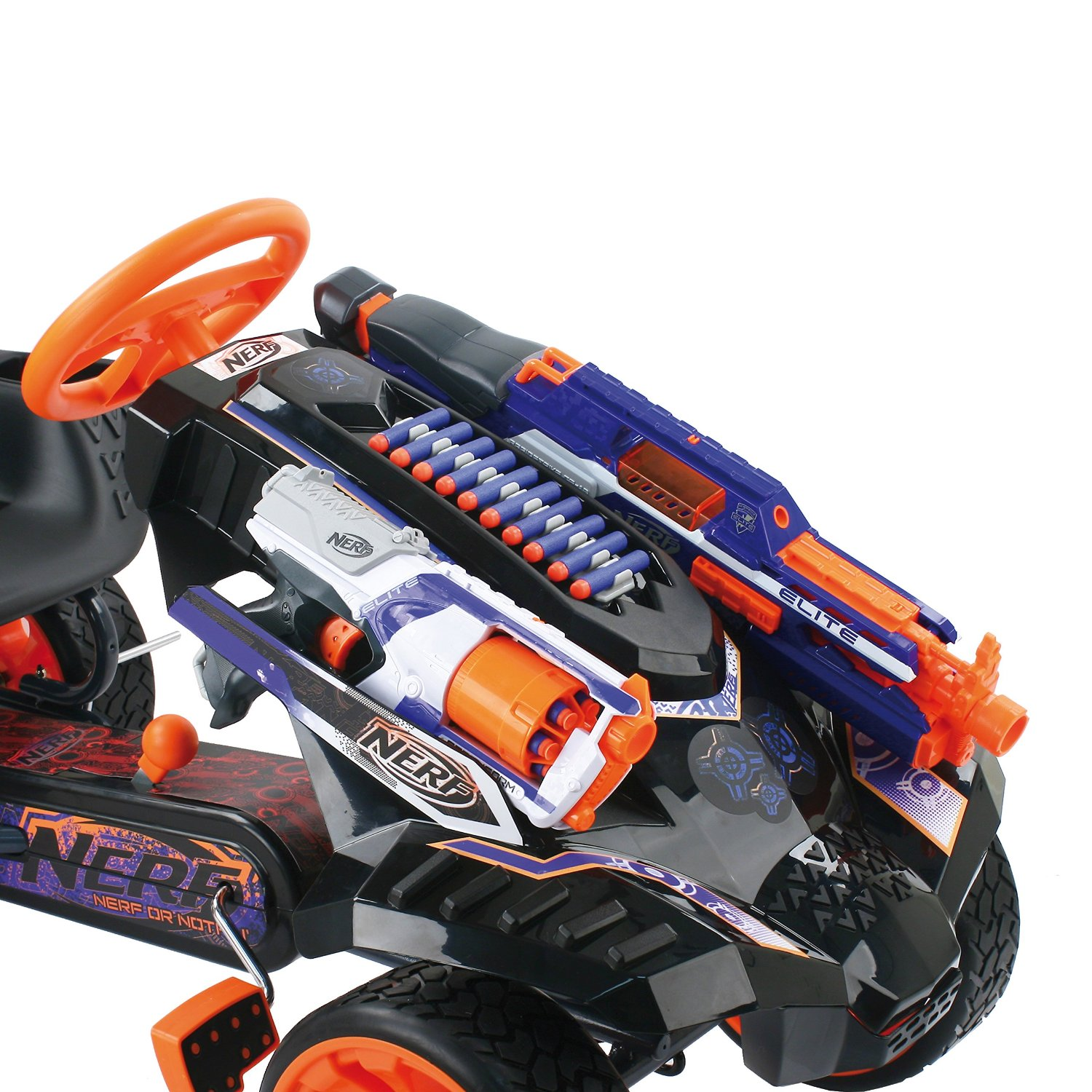 Things We Need This Awesome Nerf Gun Go Kart