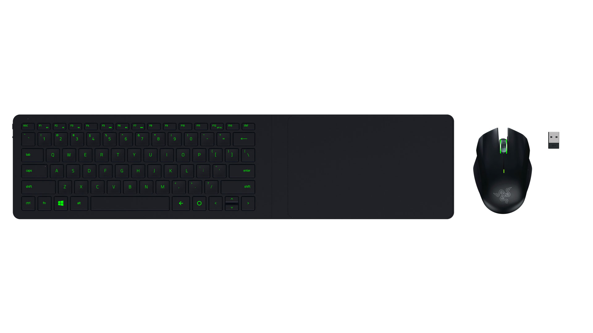 Razer Turret Living Room PC Mouse And Keyboard Lapboard Announced