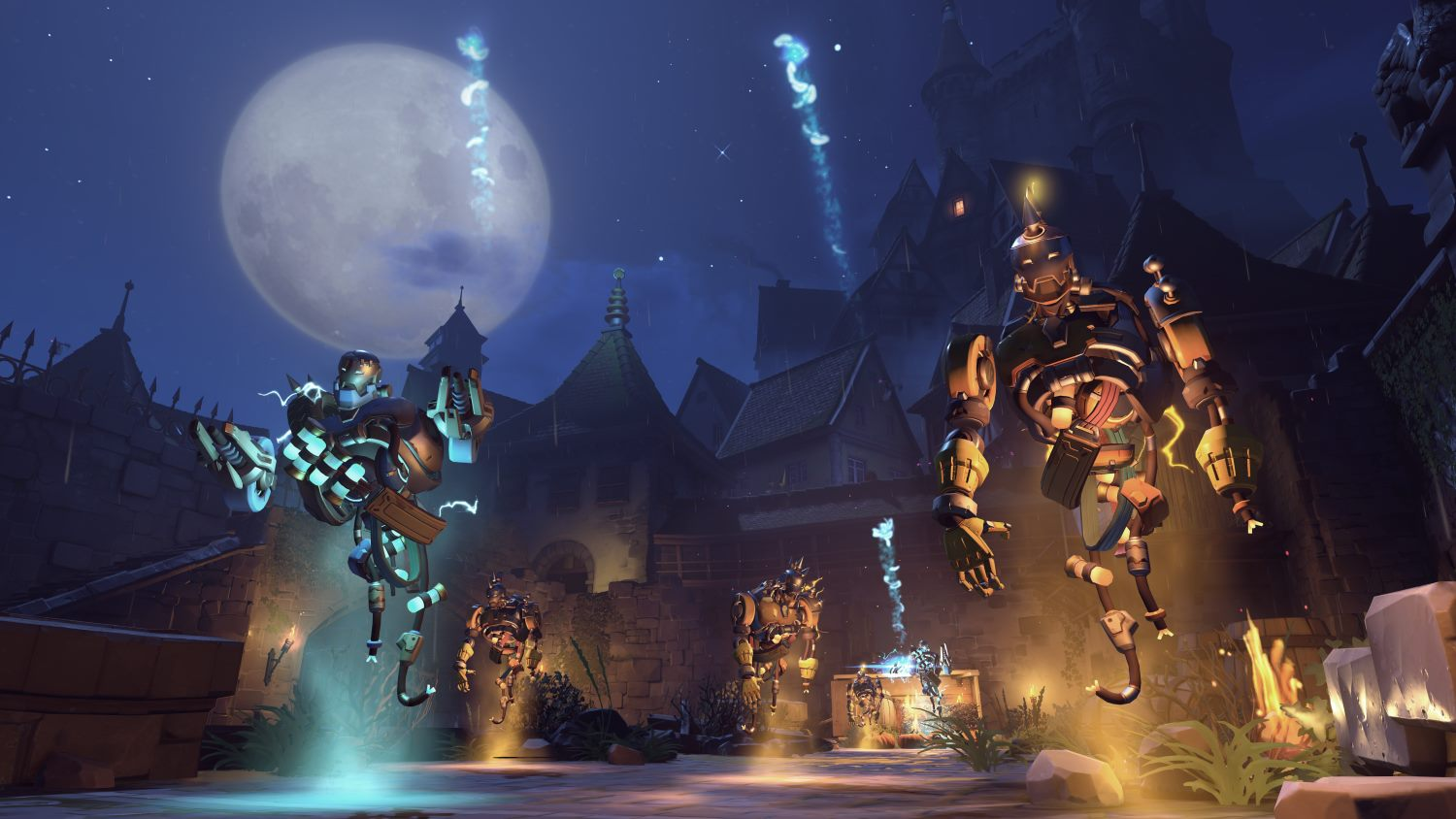 Overwatch Halloween Event New Skins, New Brawl | The Escapist