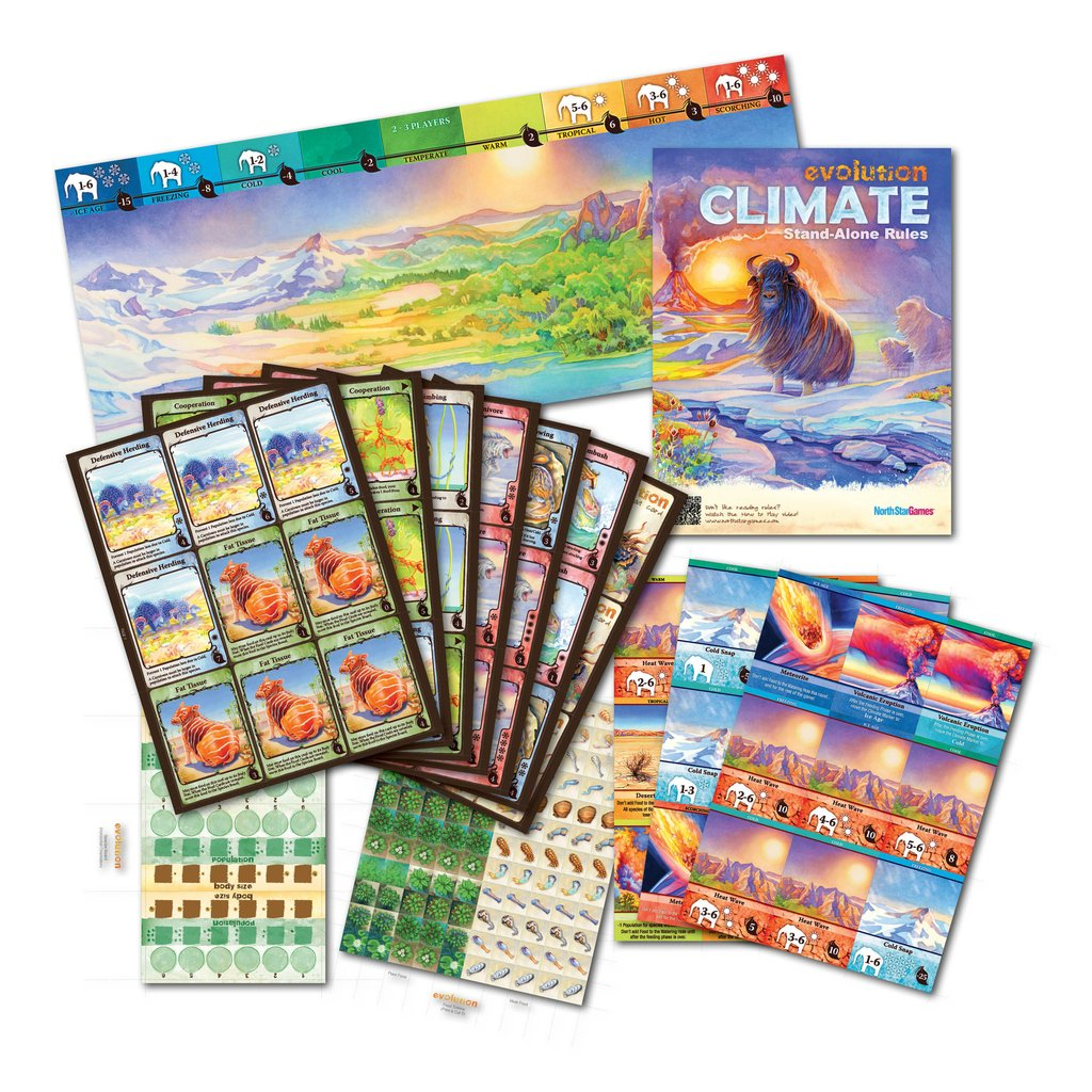 Evolution Climate Tabletop Review Reviews The Escapist