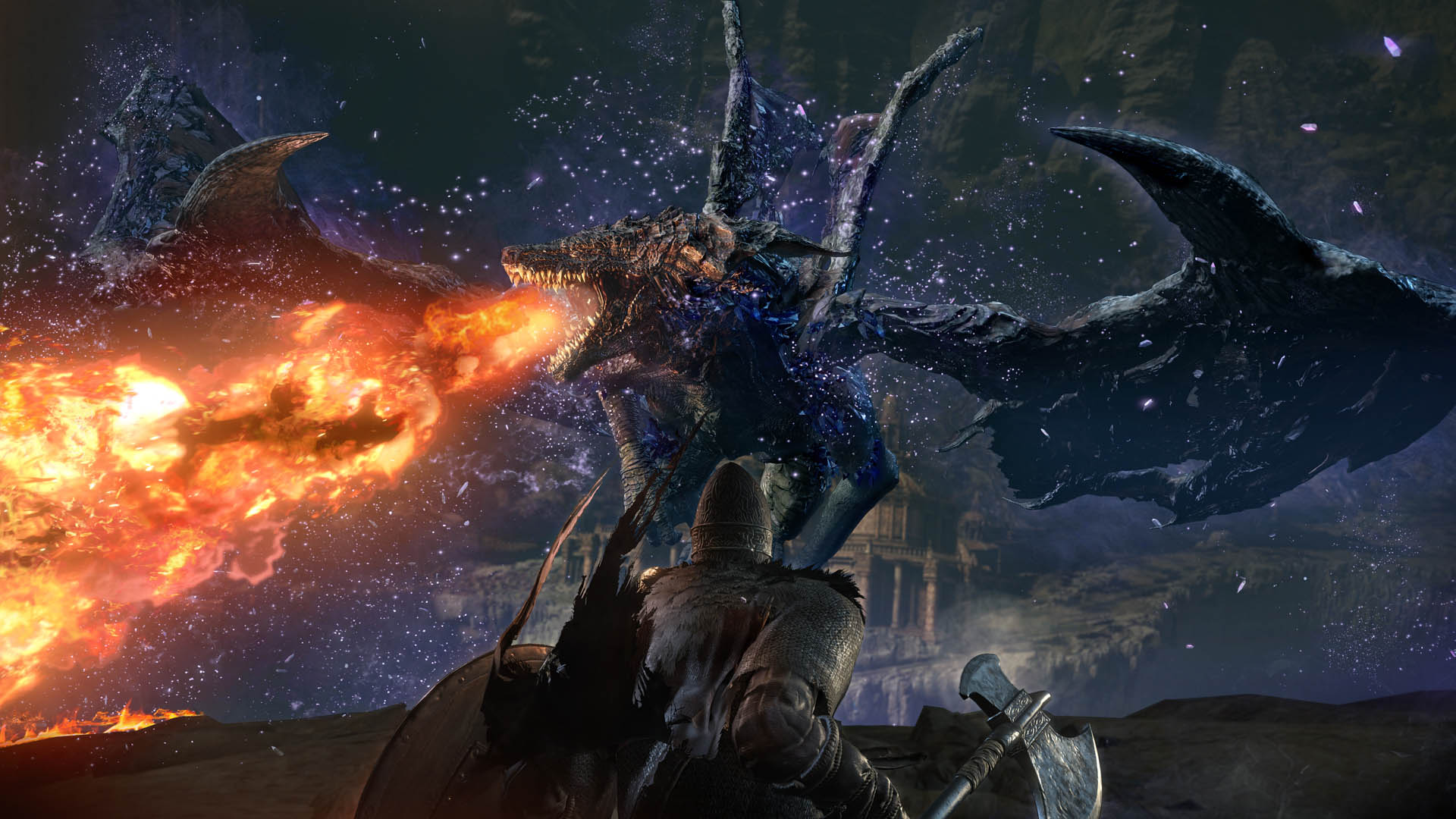 Dark Souls III The Ringed City DLC Screens And Artwork