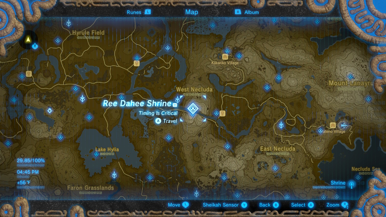 Legend of zelda breath of the wild best armor sets locations note scroll through the gallery to see each armor piece location on the map in the order listed below gumiabroncs Image collections