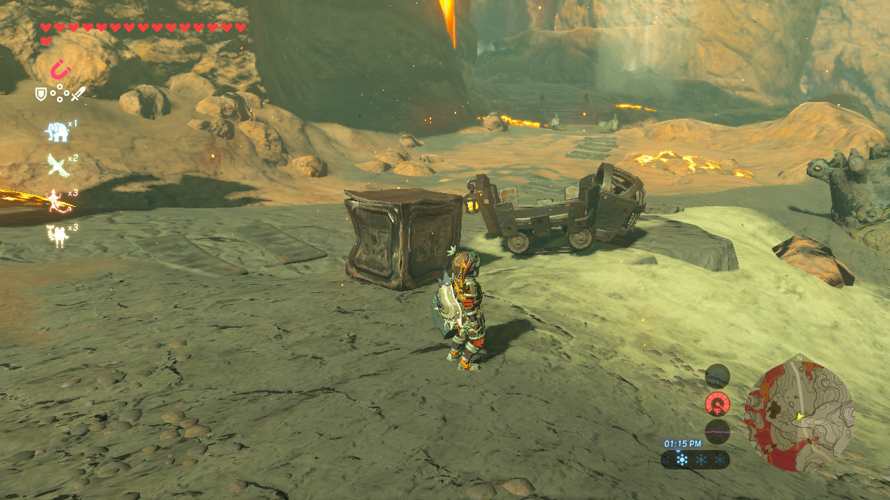 how to build a fire breath of the wild