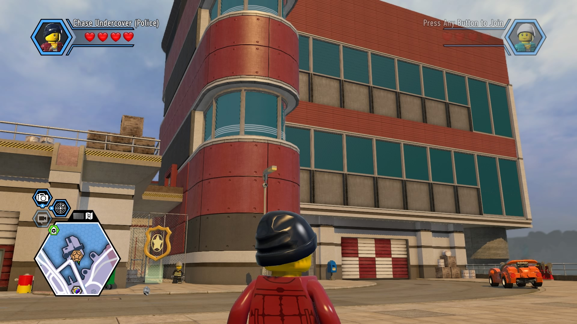 Lego city undercover walkthrough chapter 10 fire station for Case lego city