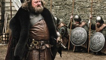 Mark Addy as King Robert Baratheon