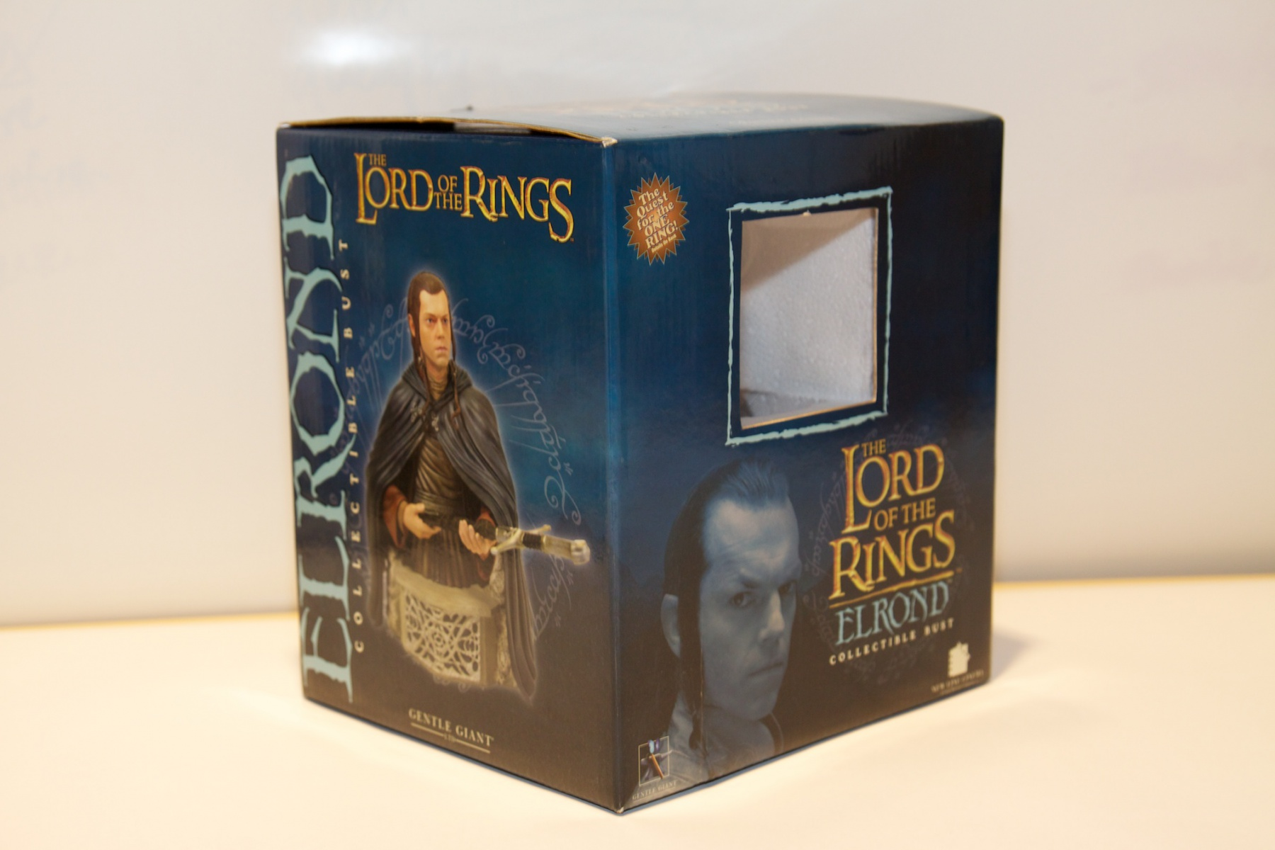 """Lord of the Rings: Elrond collectible bust standing 7"""" tall with hand-numbered Certificate of Authenticity."""