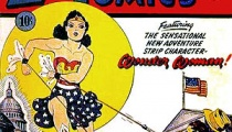 Wonder Woman's first cover, January 1942