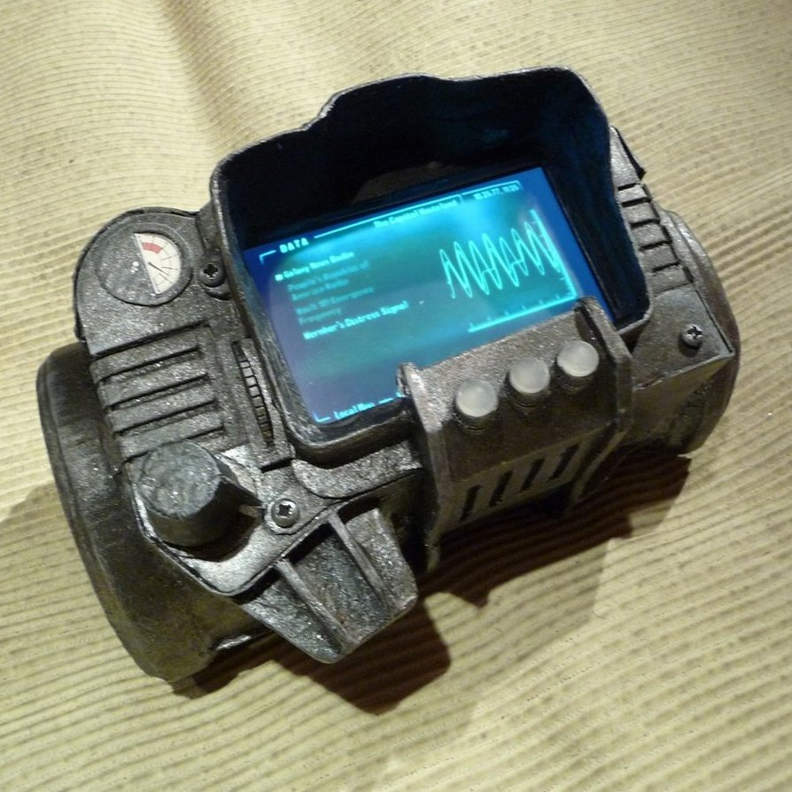 Pip Boy Iphone Case