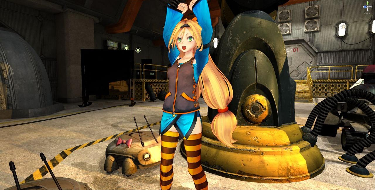 Anime Characters Unity : Unity game engine obtains anime mascot named chan