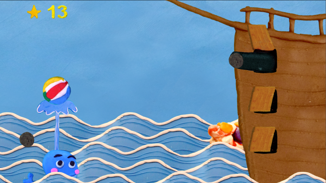 Screenshot of Josh Salmon's upcoming game, The Whale Game.