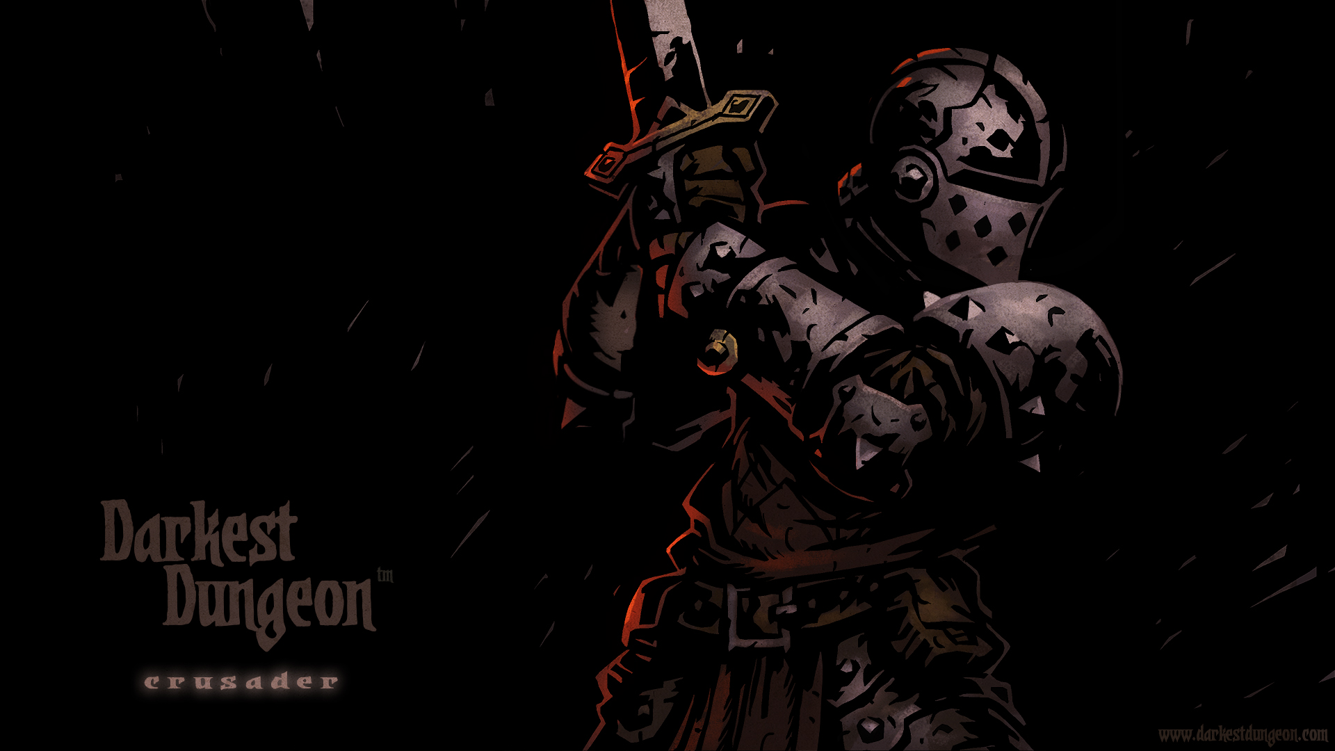 The Crusader character wallpaper.