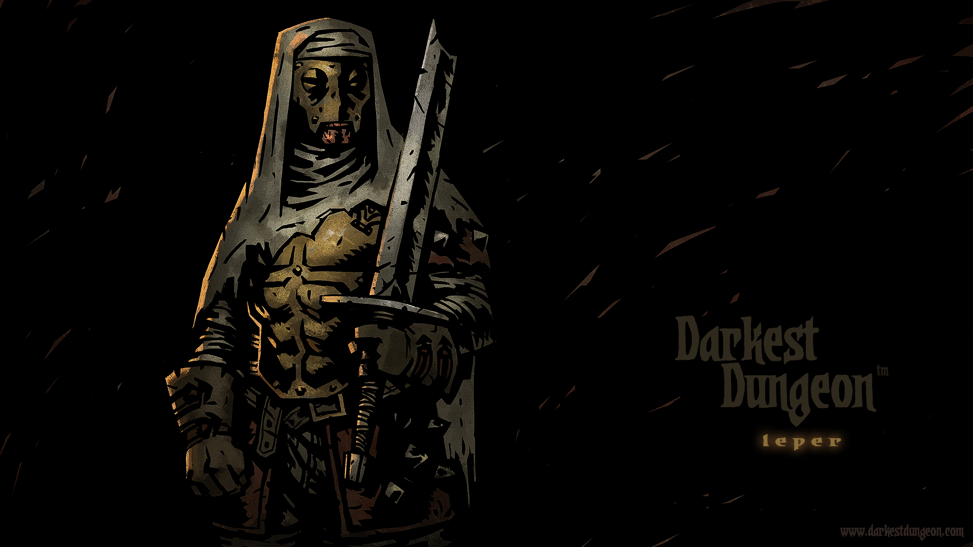 The Leper character wallpaper.