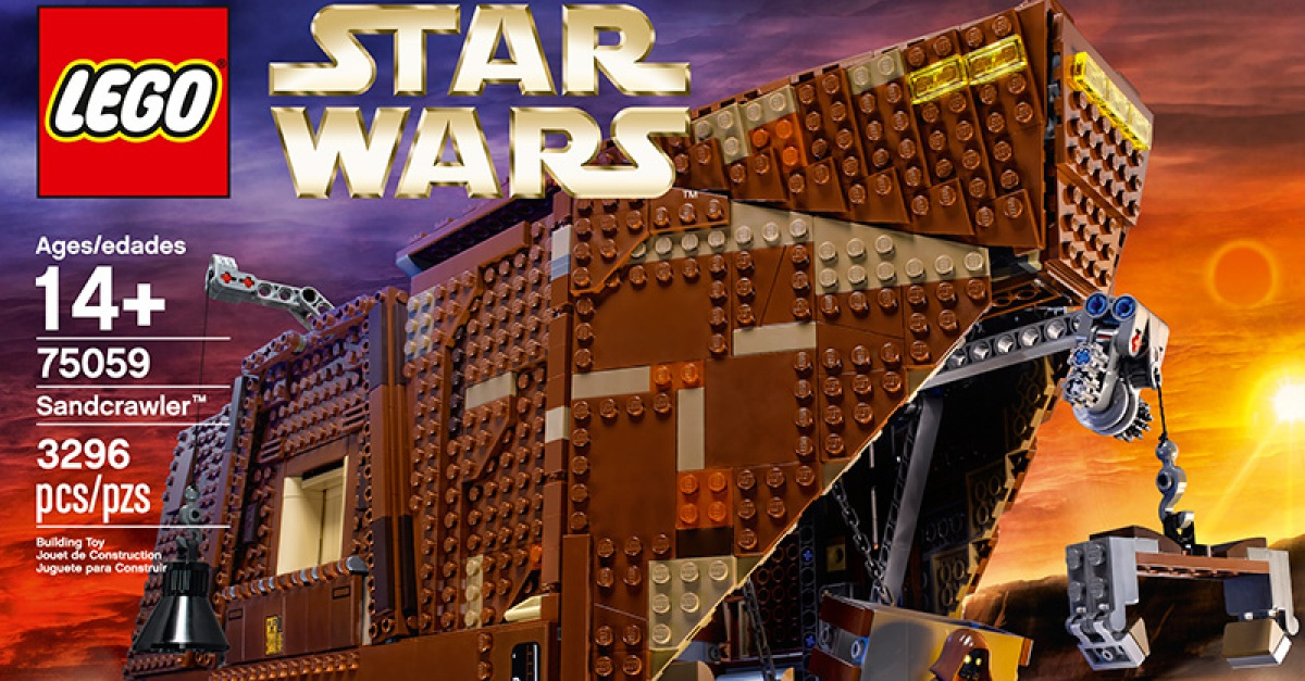 Lego Announces New Star Wars Sandcrawler The Escapist