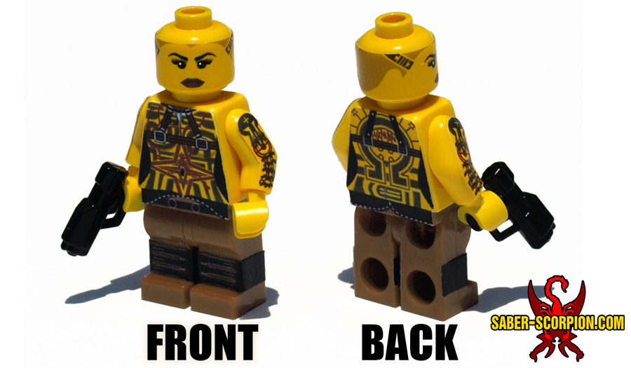 Custom Mass Effect Lego Minifigs Let You Really Put the Team ...