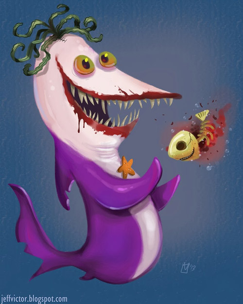 Sharkham Asylum: Joker SharkBy Jeff Victor