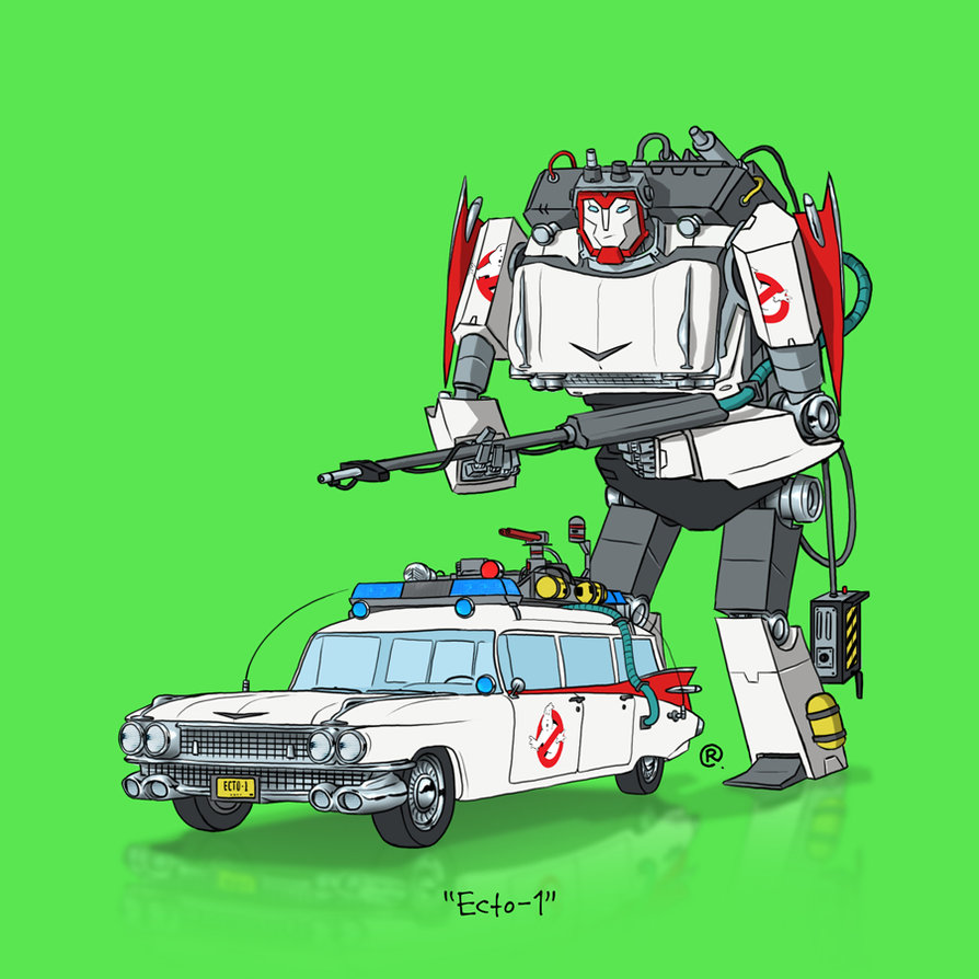 Ecto-1By Darren Rawlings
