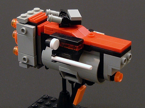 LEGO Robot Wargame Mobile Frame Zero Goes Space With Alpha Bandit ...