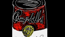 Andy Warhol, Campbell's, 1985, ©The Andy Warhol Foundation for the Visuals Arts, Inc., courtesy of The Andy Warhol Museum