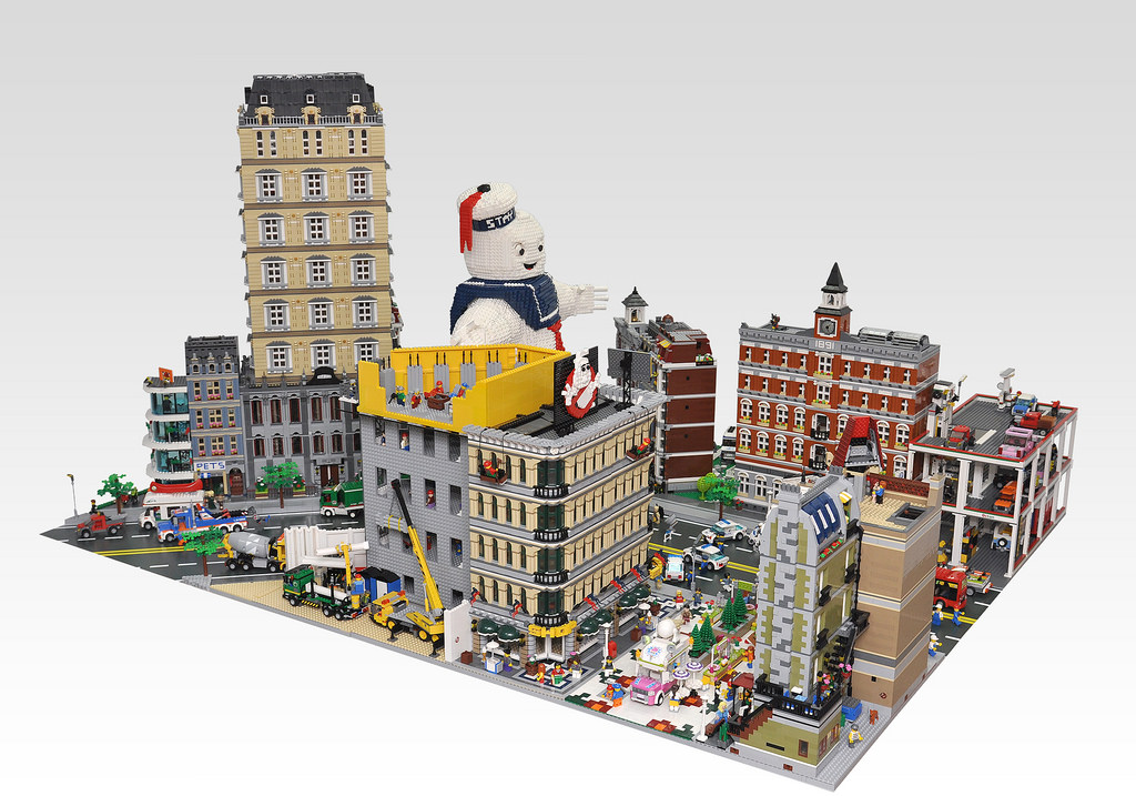 Ghostbusters Lego Build Recreates Mr Stay Puft 39 S