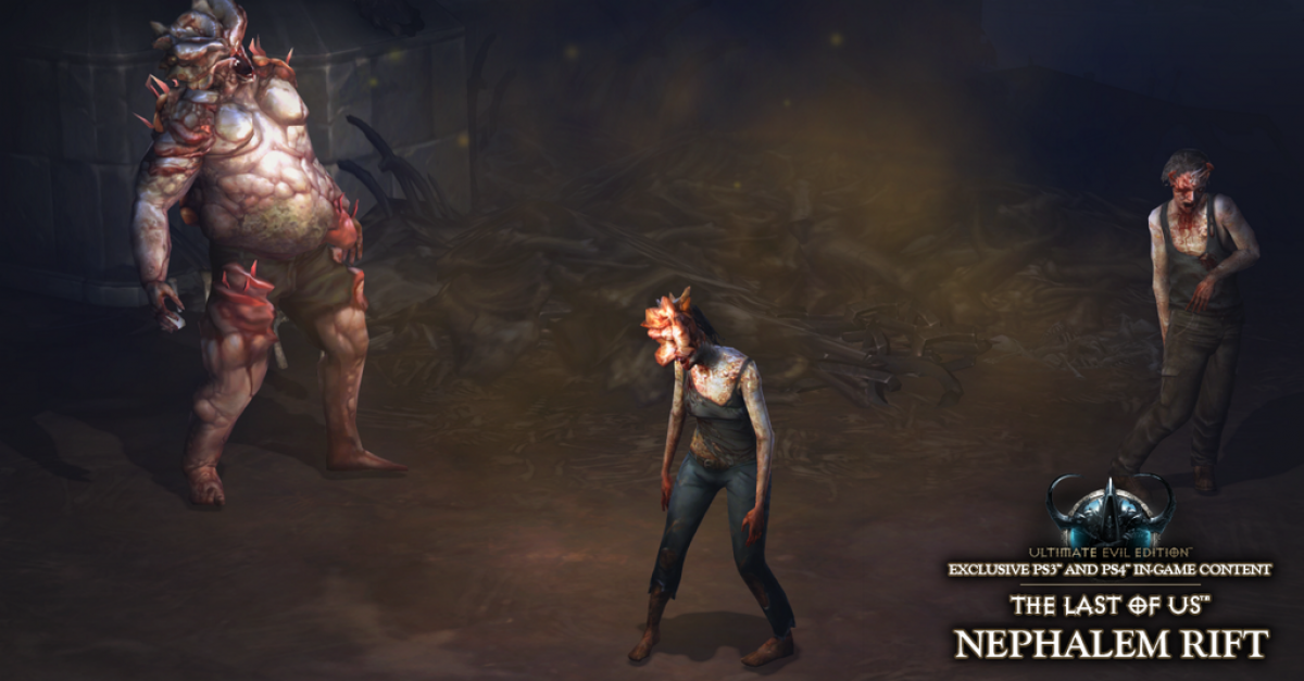 The Last Of Us Comes To Diablo Iii In Ps3 4 Exclusive Crossover