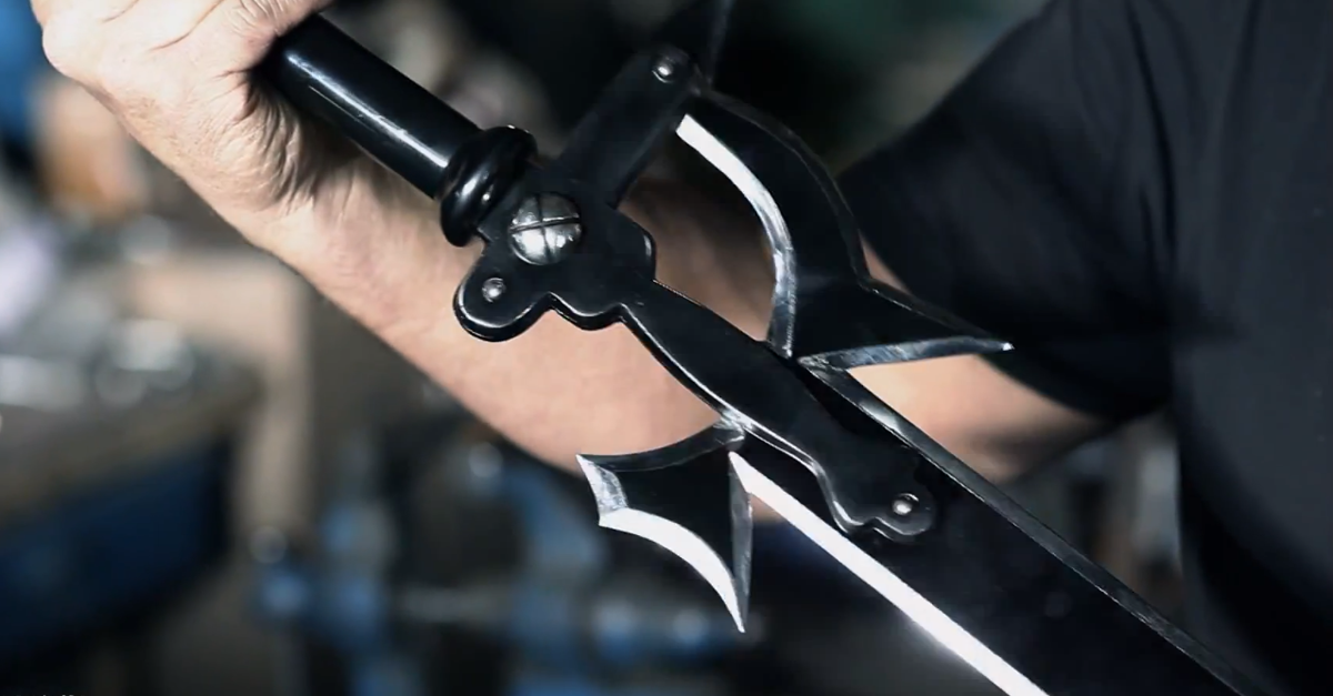 Shiny Replica Of Sword Art Online S Elucidator Created For