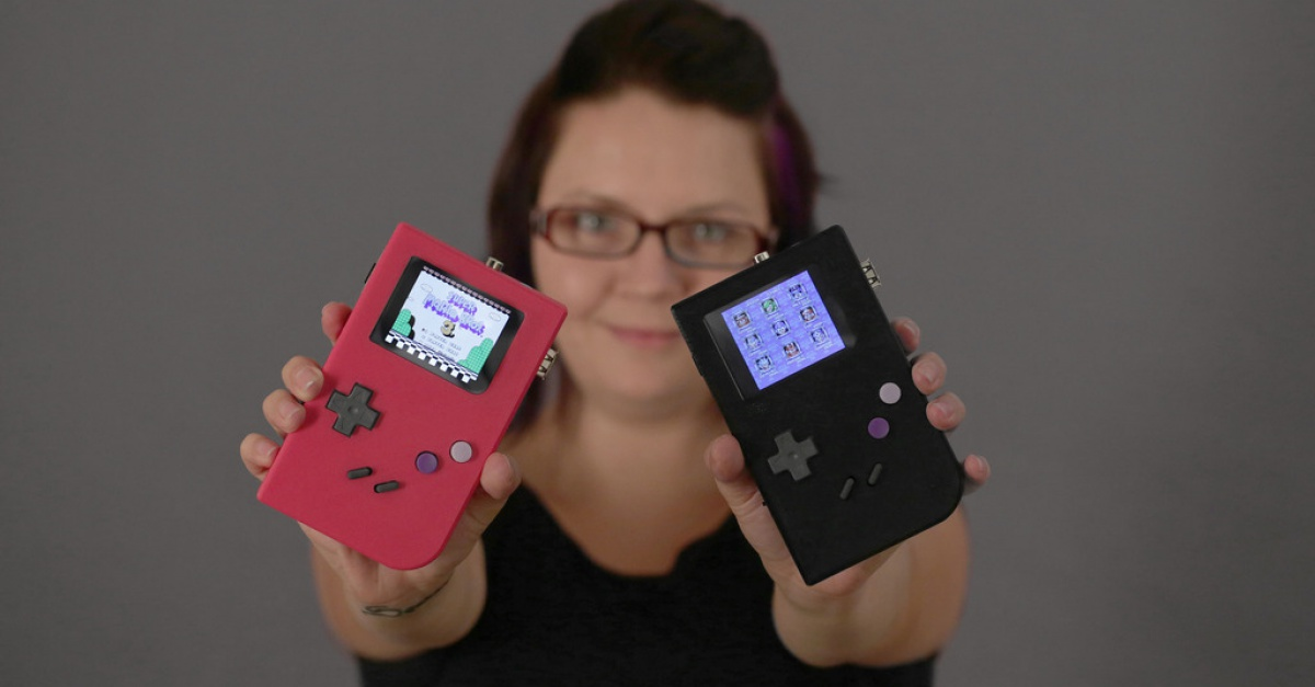 game boy revived with 3d printed game girl the escapist