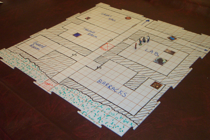 how to draw dry erase a battle map rpg