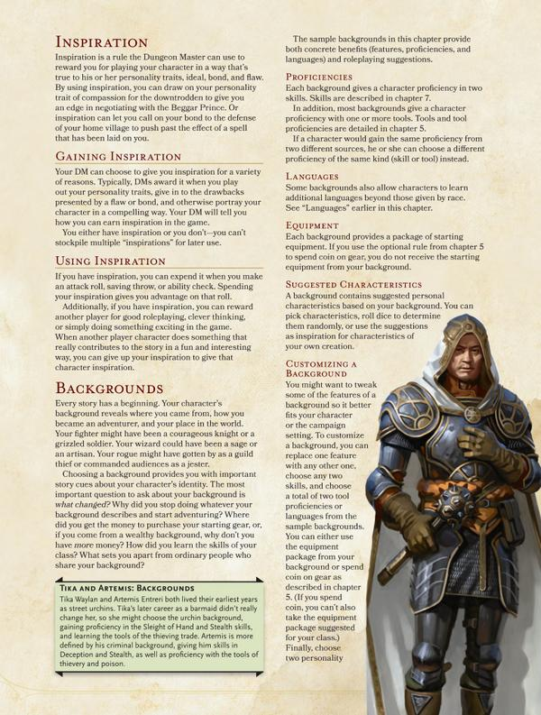 ... and Specializations in the D&D Player's Handbook | The Escapist
