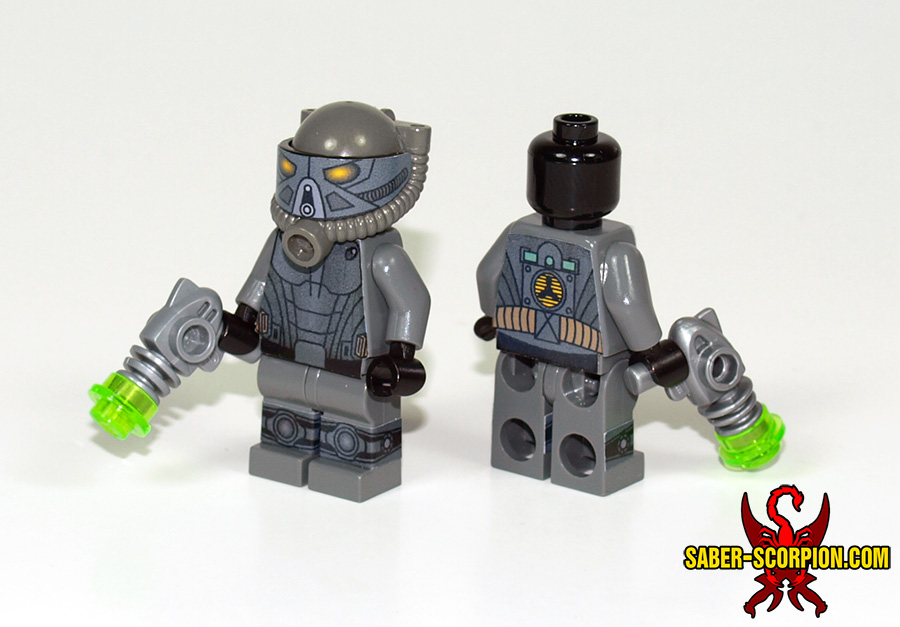 How To Build A Lego Army Man