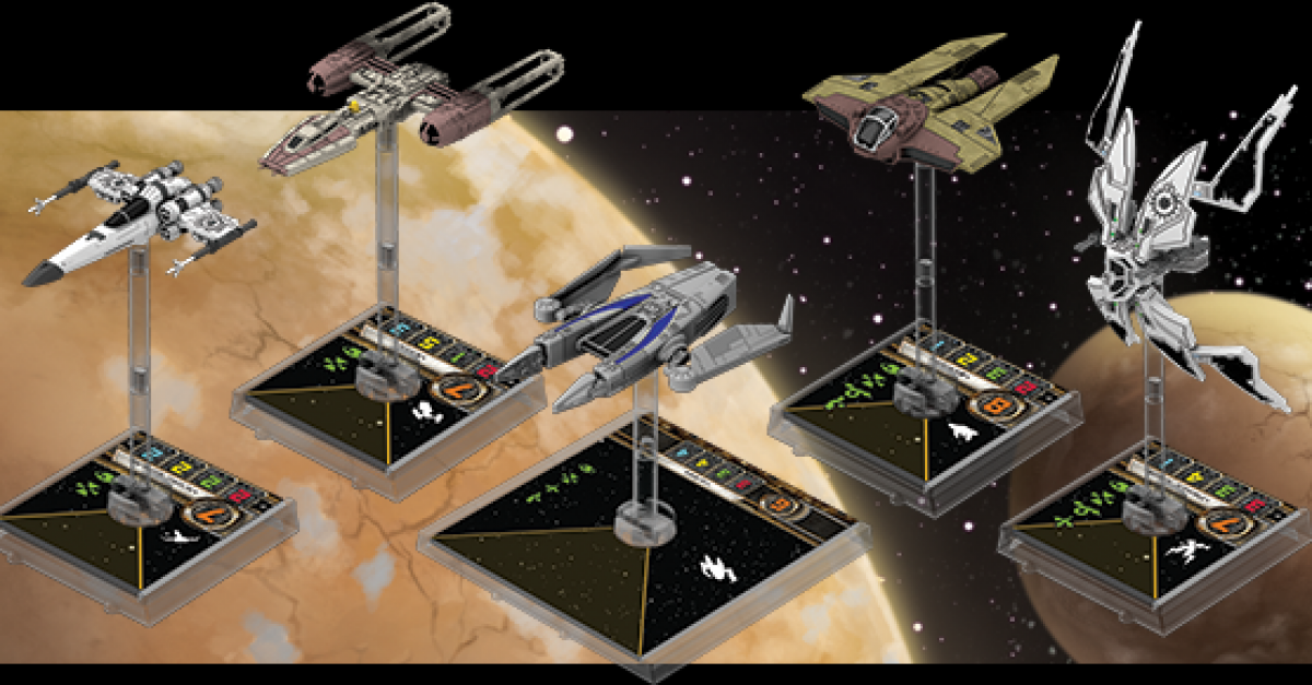 X-Wing Miniatures Scum and Villainy Faction Announced by Fantasy Flight Games at Gen Con | The ...