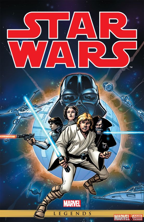 Star Wars Omnibus cover by Howard Chaykin. Source: Marvel Comics
