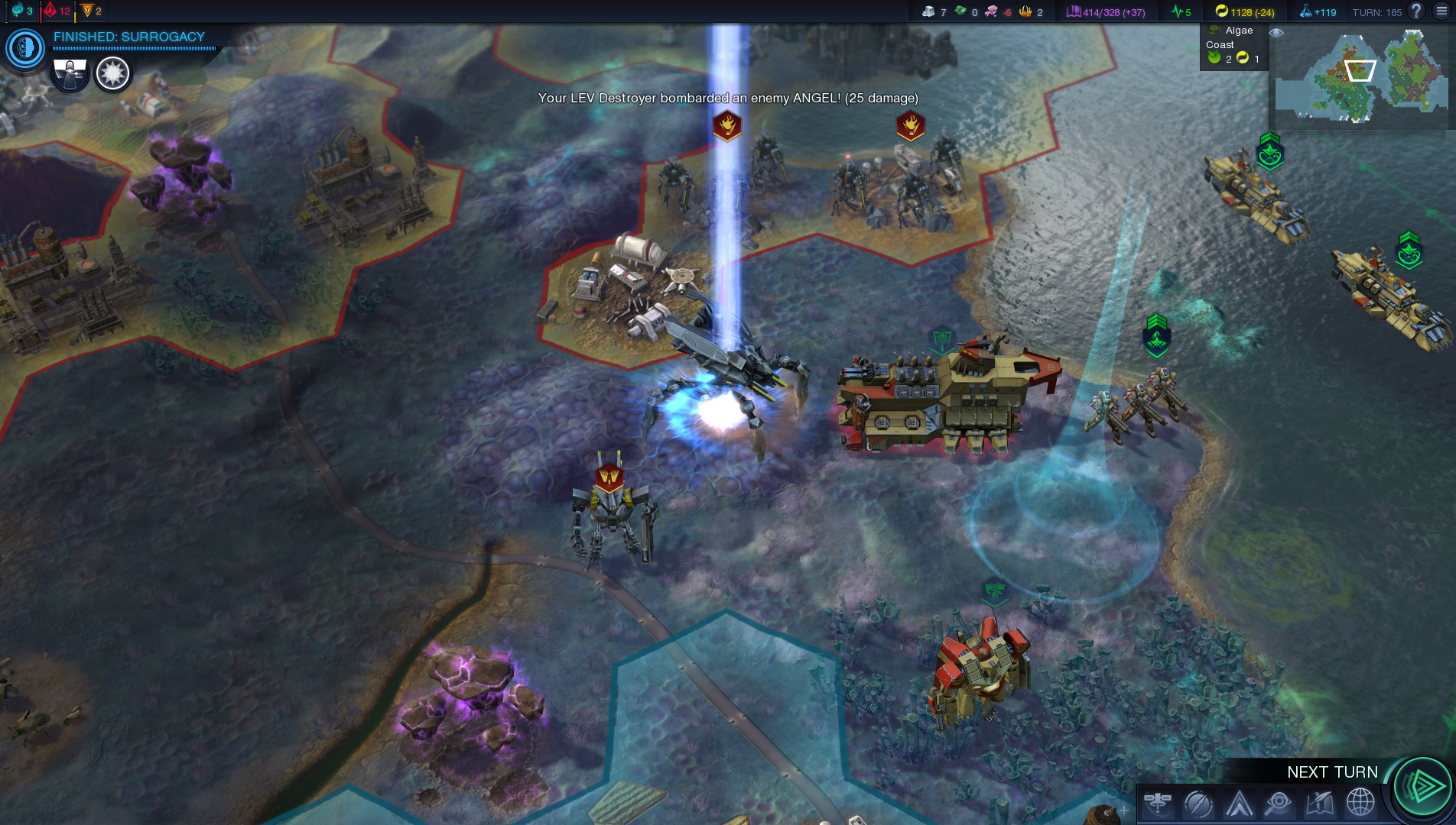 Beyond earth trade route slots