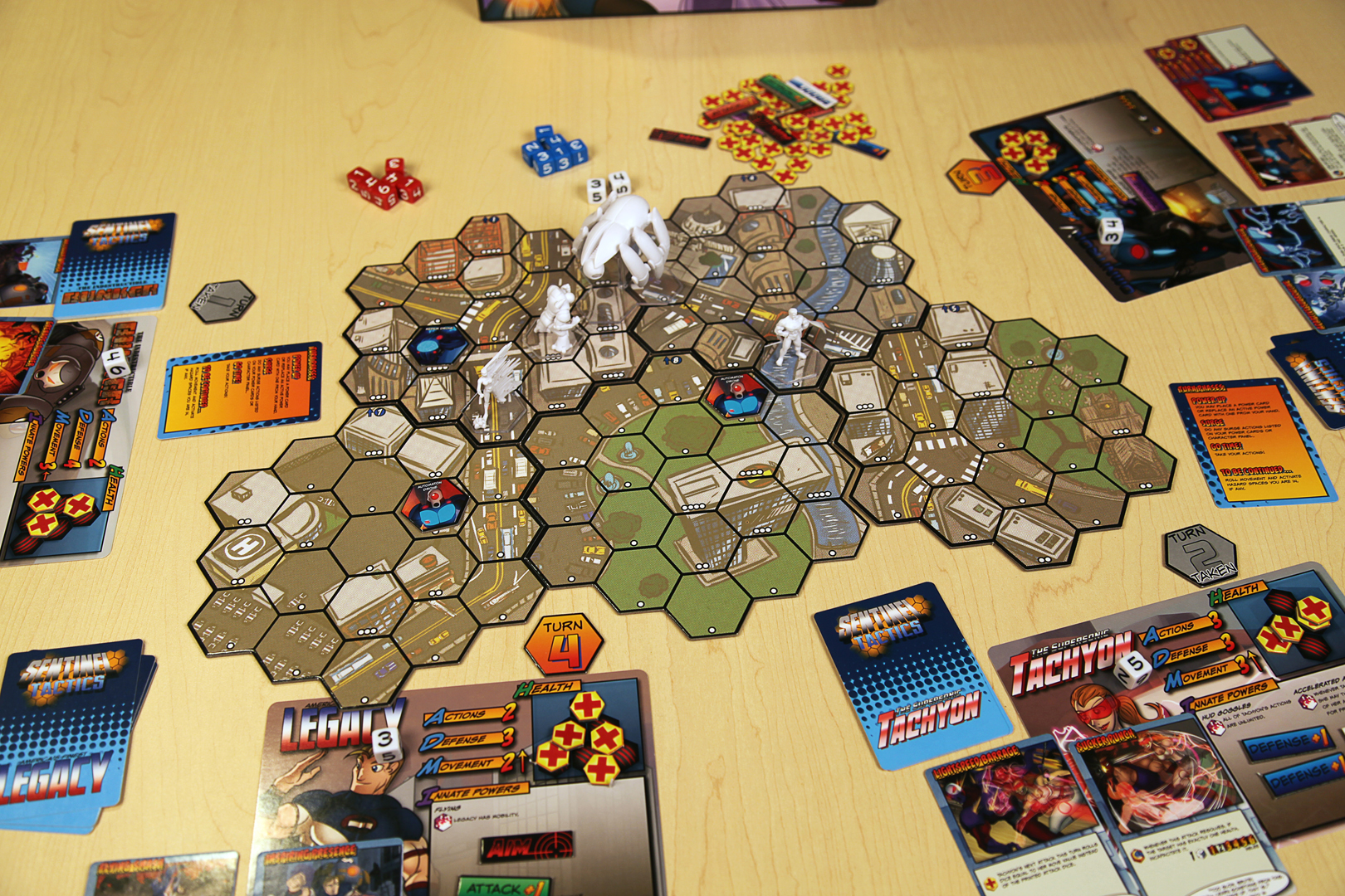 Sentinels Tactics The Flame Of Freedom Board Game Review