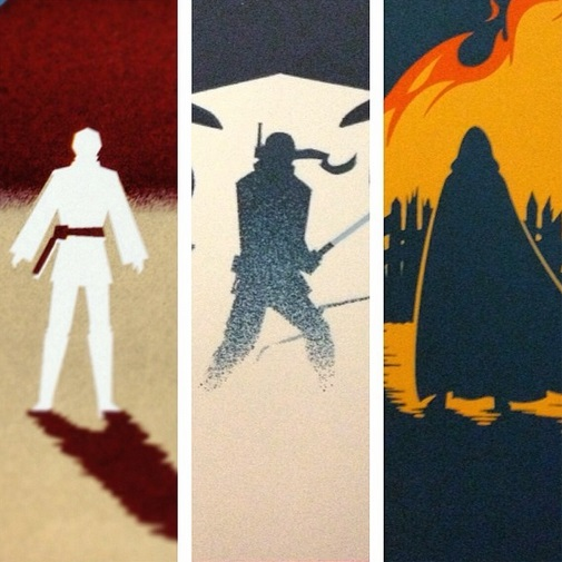 Eric Tan S Star Wars Posters Are Gorgeous The Escapist