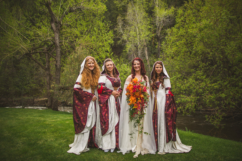 Game of Thrones and Lord of the Rings Meet in Epic Fantasy Wedding