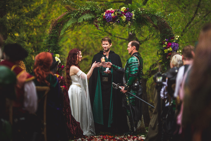 Fantasy Wedding Combines Lord of the Rings and Game of Thrones The