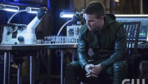 Pictured: Stephen Amell as Oliver Queen. Photo Credit: Cate Cameron/The CW