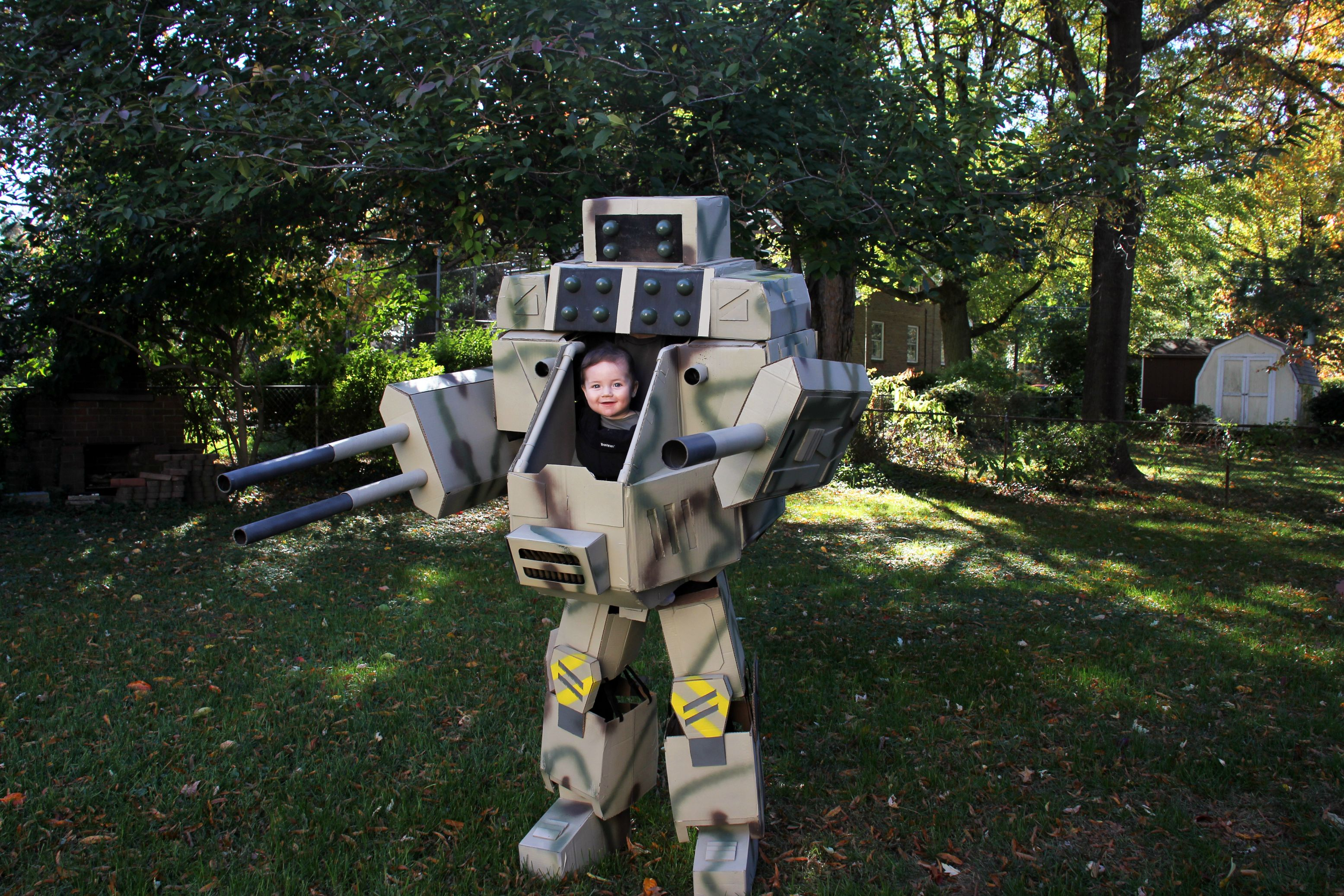 ryan bowden 39 s father son mechwarrior costume the escapist. Black Bedroom Furniture Sets. Home Design Ideas