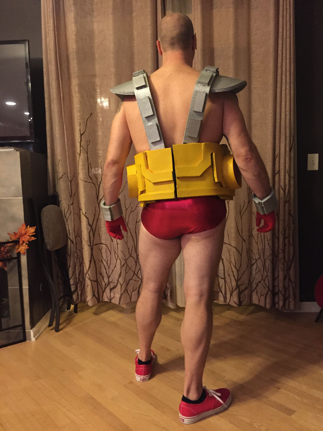 Dressing up as April and the Turtles is a solid group Halloween costume and youu0027ll even see Bebop and Rocksteady from time to time. But Krang is a rarity ... & Teenage Mutant Ninja Turtles Krang Halloween Costume Reddit | The ...