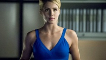 Emily Bett Richards as Felicity Smoak. Photo Credit: The CW.