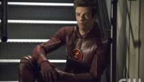 Grant Gustin as The Flash. Photo Credit: Cate Cameron/The CW