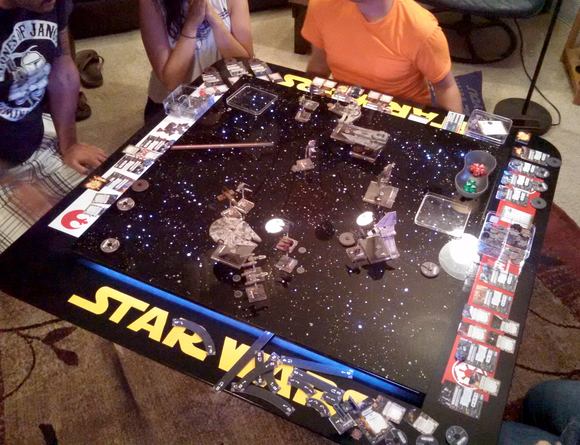 Star Wars: X Wing Fan Creates Custom Tabletop Gaming Table | The Escapist